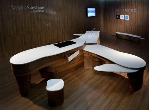 Shaping Silestone by Campanas