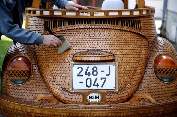 Momir Bojic's VW Beetle