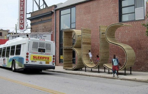 BUS by Spanish art collective 'mmmm….'