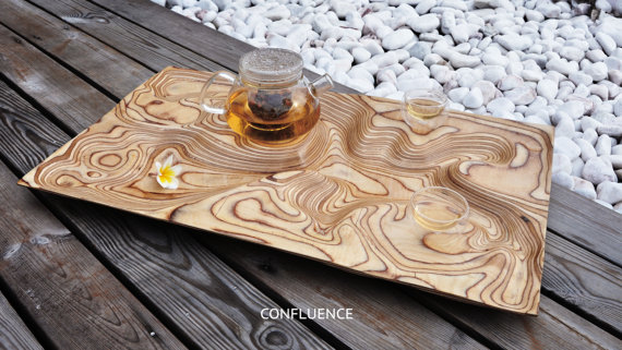 The 'Confluence' tray by Artonomos