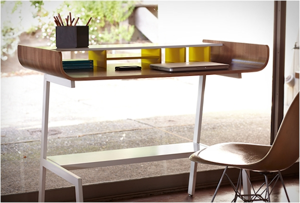 Half Pipe Desk by Eric Pfeiffer
